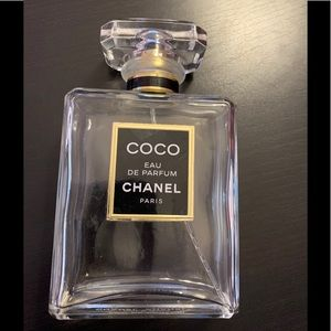 Empty Coco Chanel Bottle